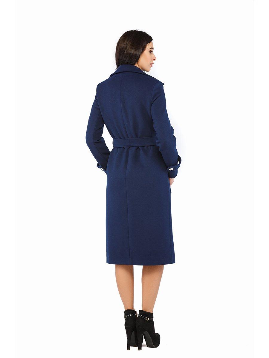 Пальто синее | 3043302 | фото 3