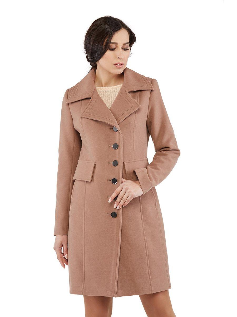 Пальто кольору капучино | 3043307