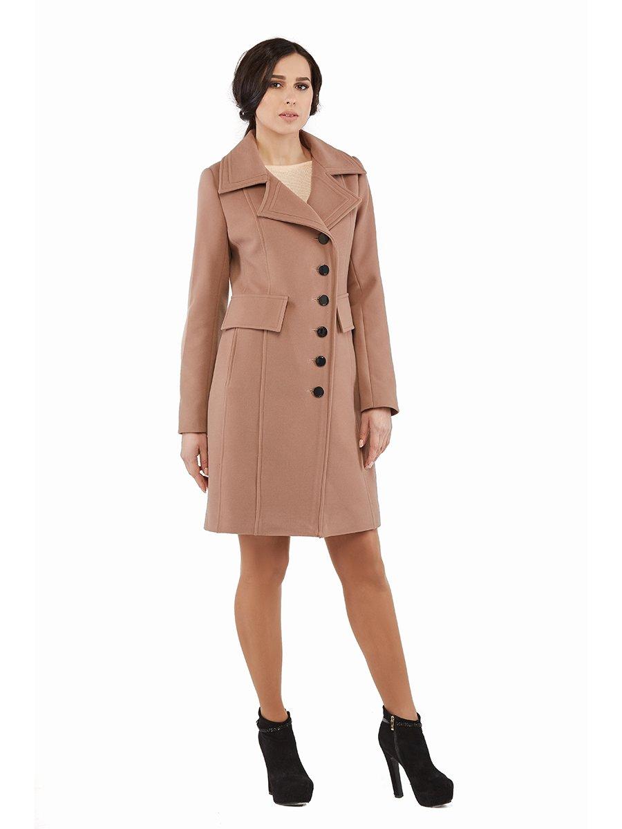 Пальто кольору капучино | 3043307 | фото 2