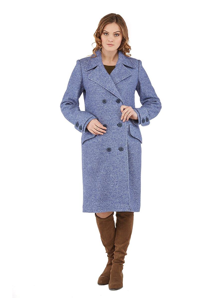Пальто синє | 3043319