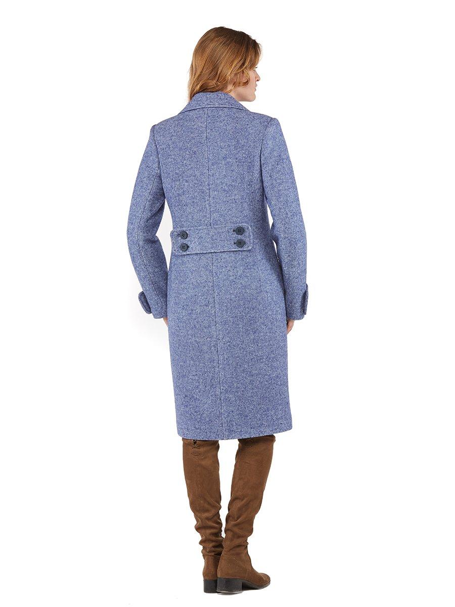 Пальто синє | 3043319 | фото 3