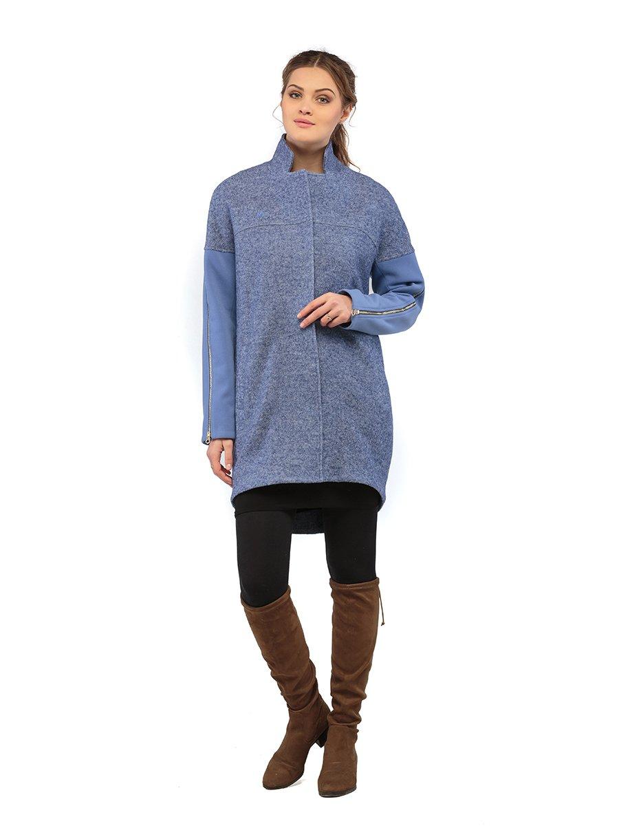 Пальто синє | 3043323 | фото 2