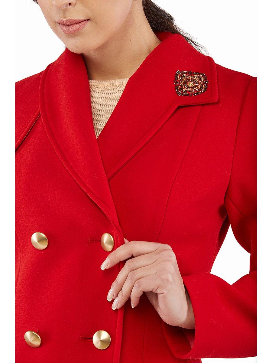 Пальто червоне   3043325   фото 2