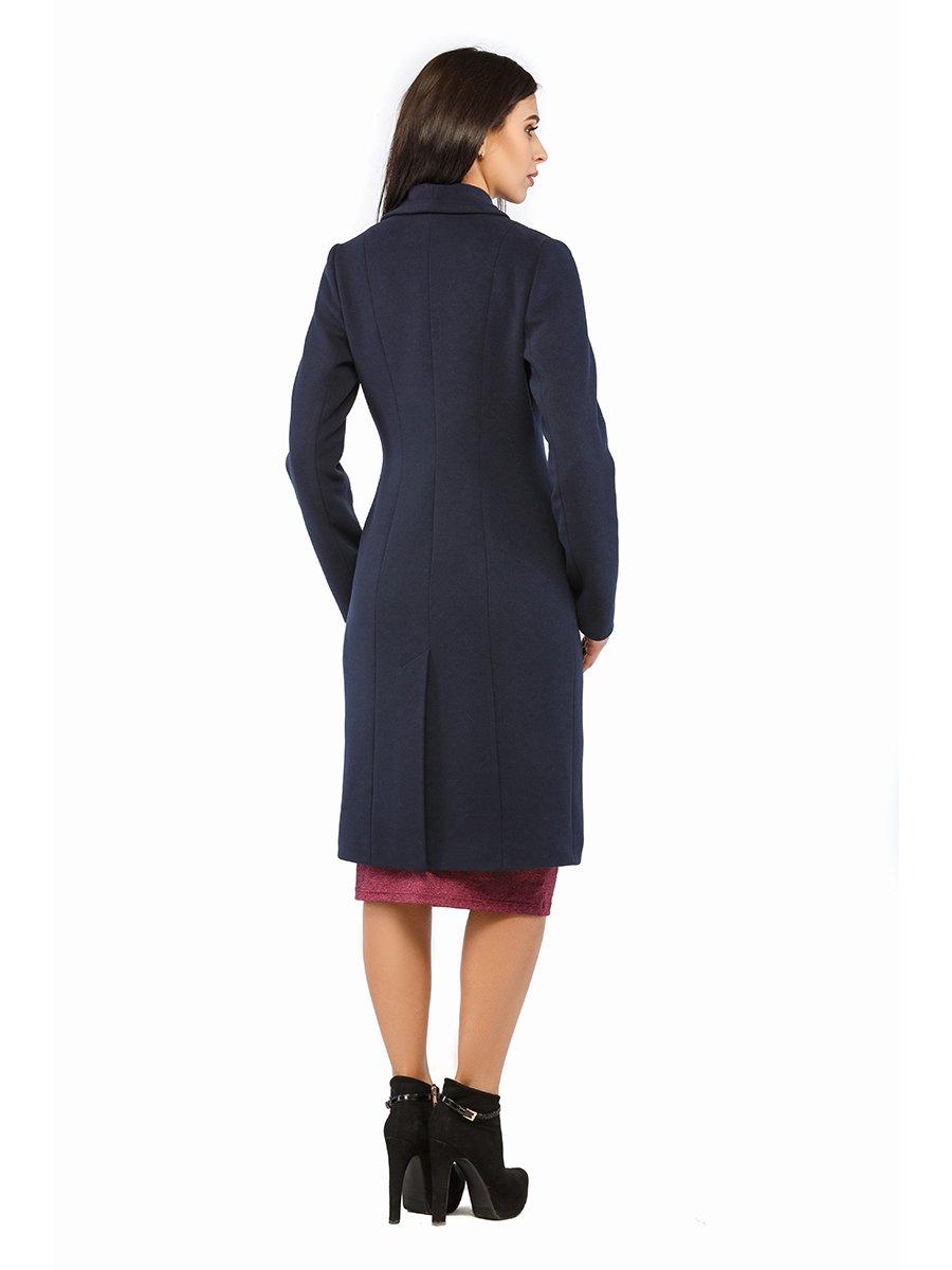 Пальто синє | 3043326 | фото 3