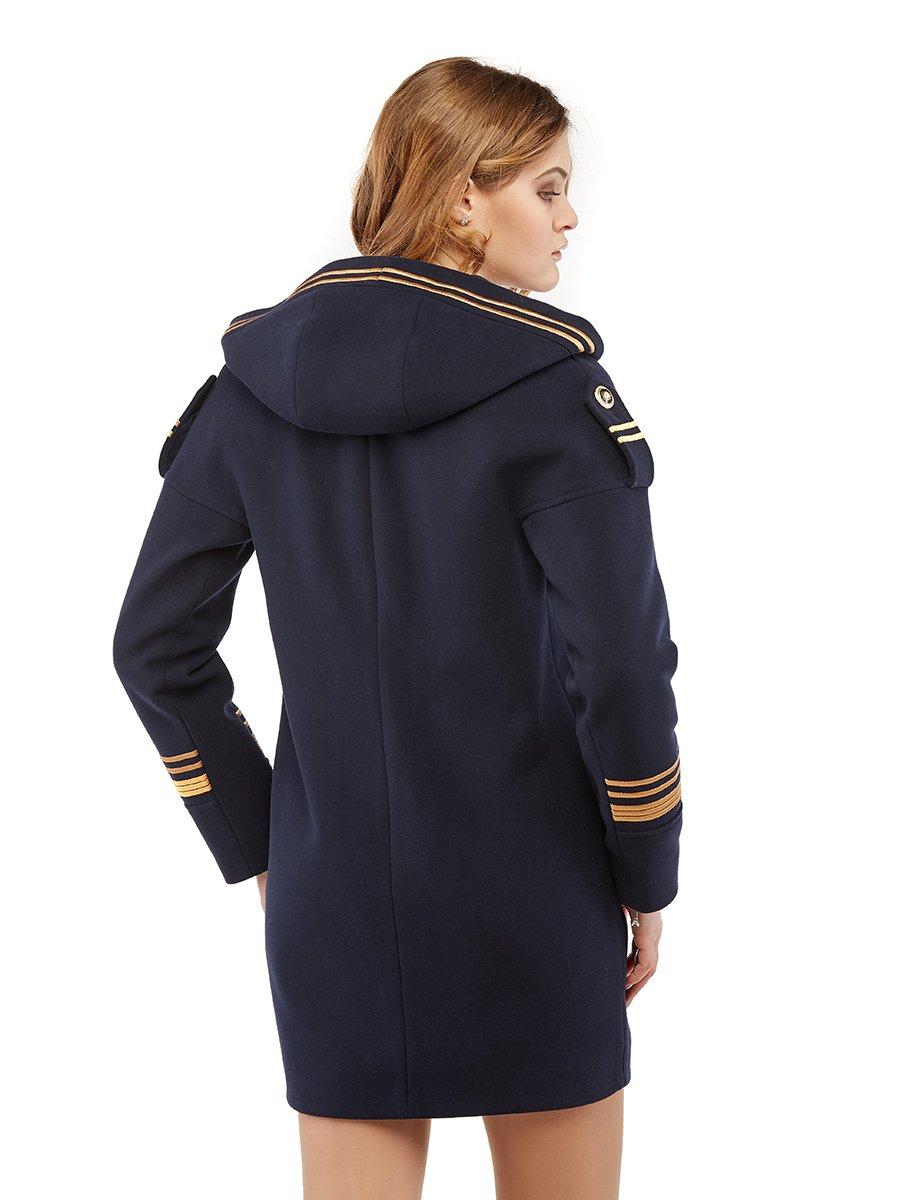 Пальто синє | 3043329 | фото 3