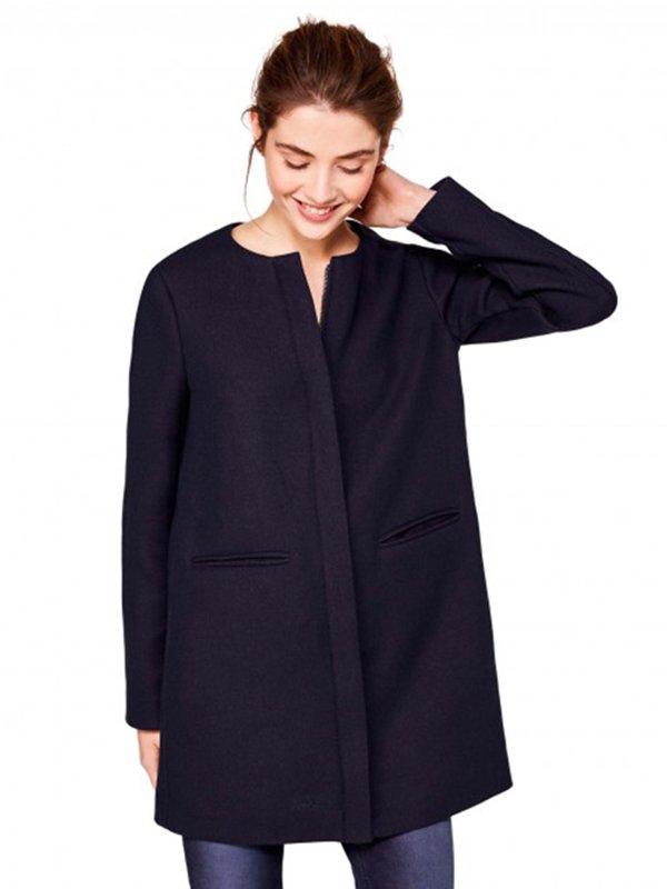 Пальто темно-синее | 3013151