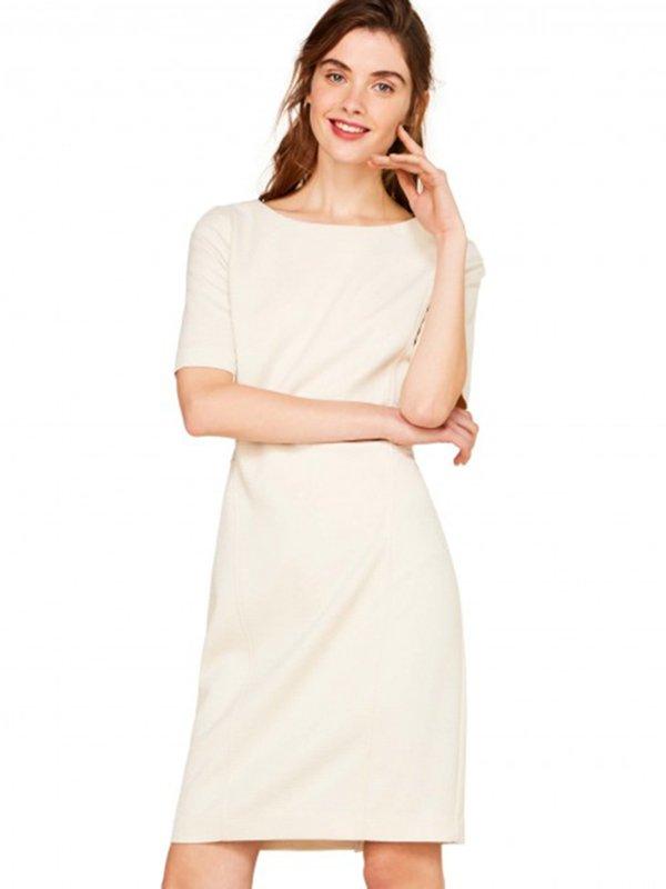 Платье бежевое | 3013178
