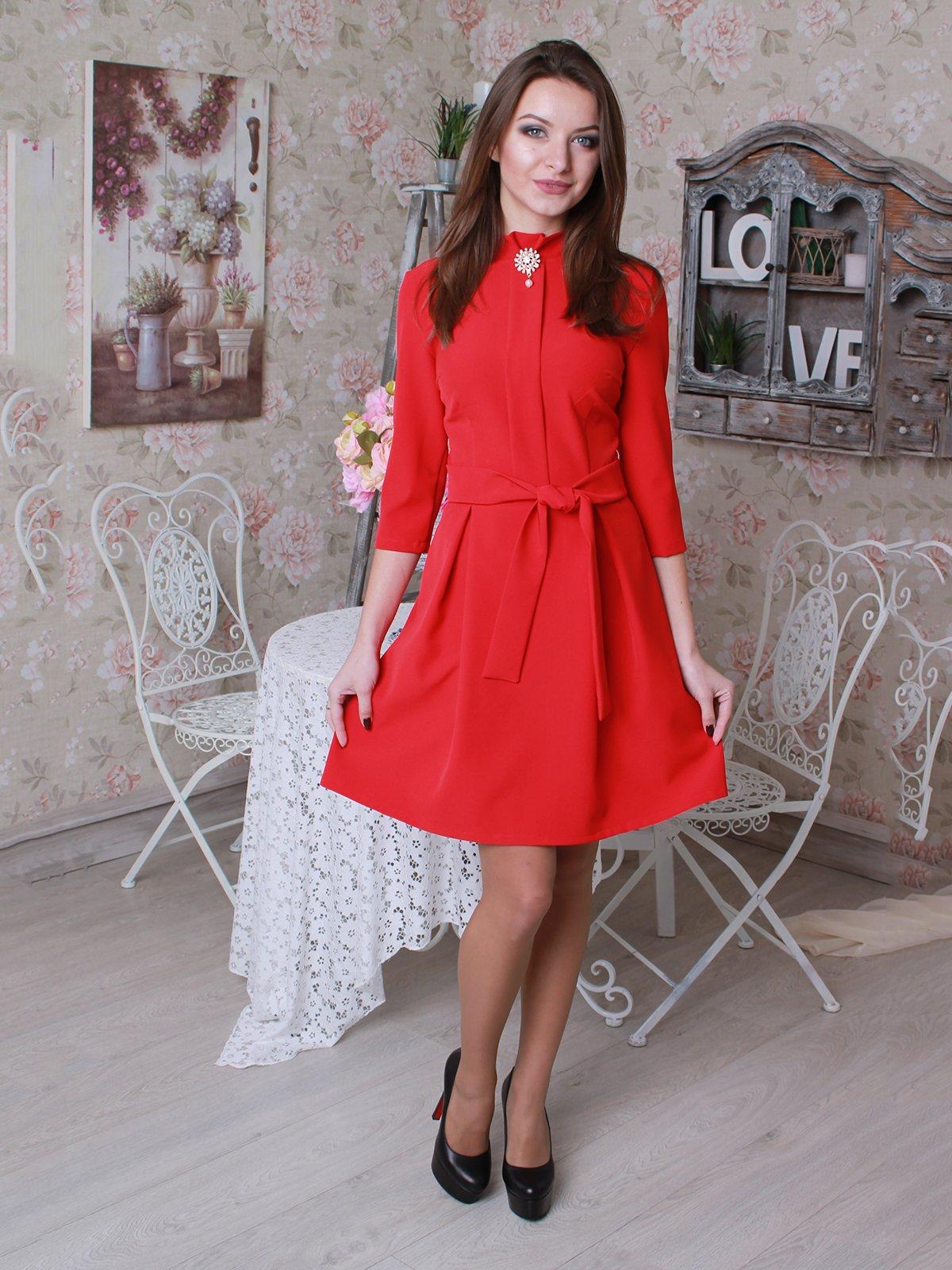 Платье красное | 3050038