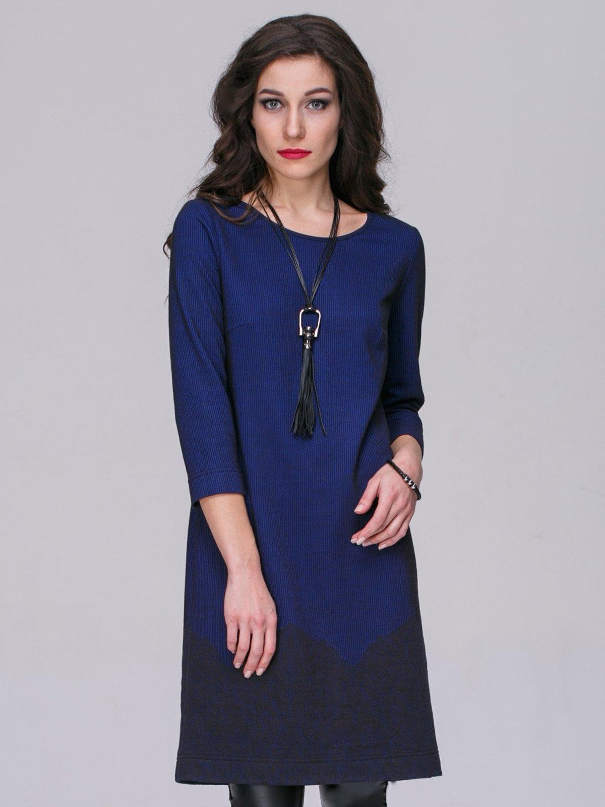 Платье синее | 3052330