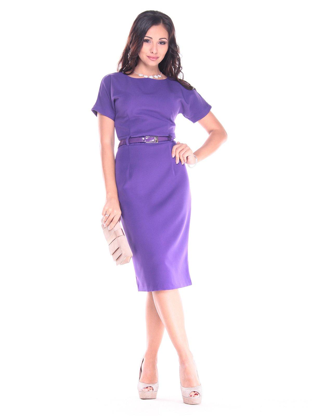 Платье фиолетовое | 2900664