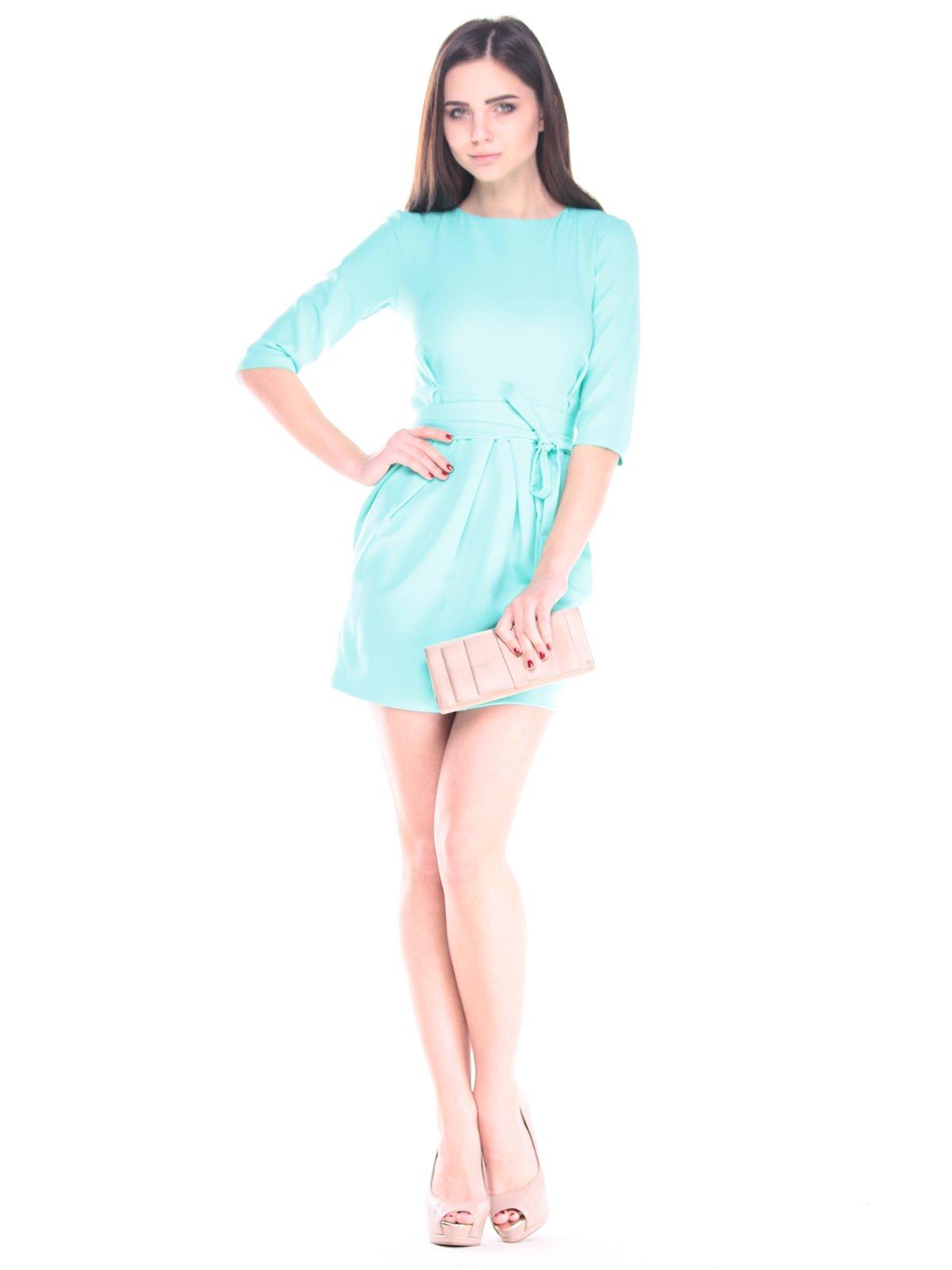 Сукня кольору зеленої бірюзи | 2918018