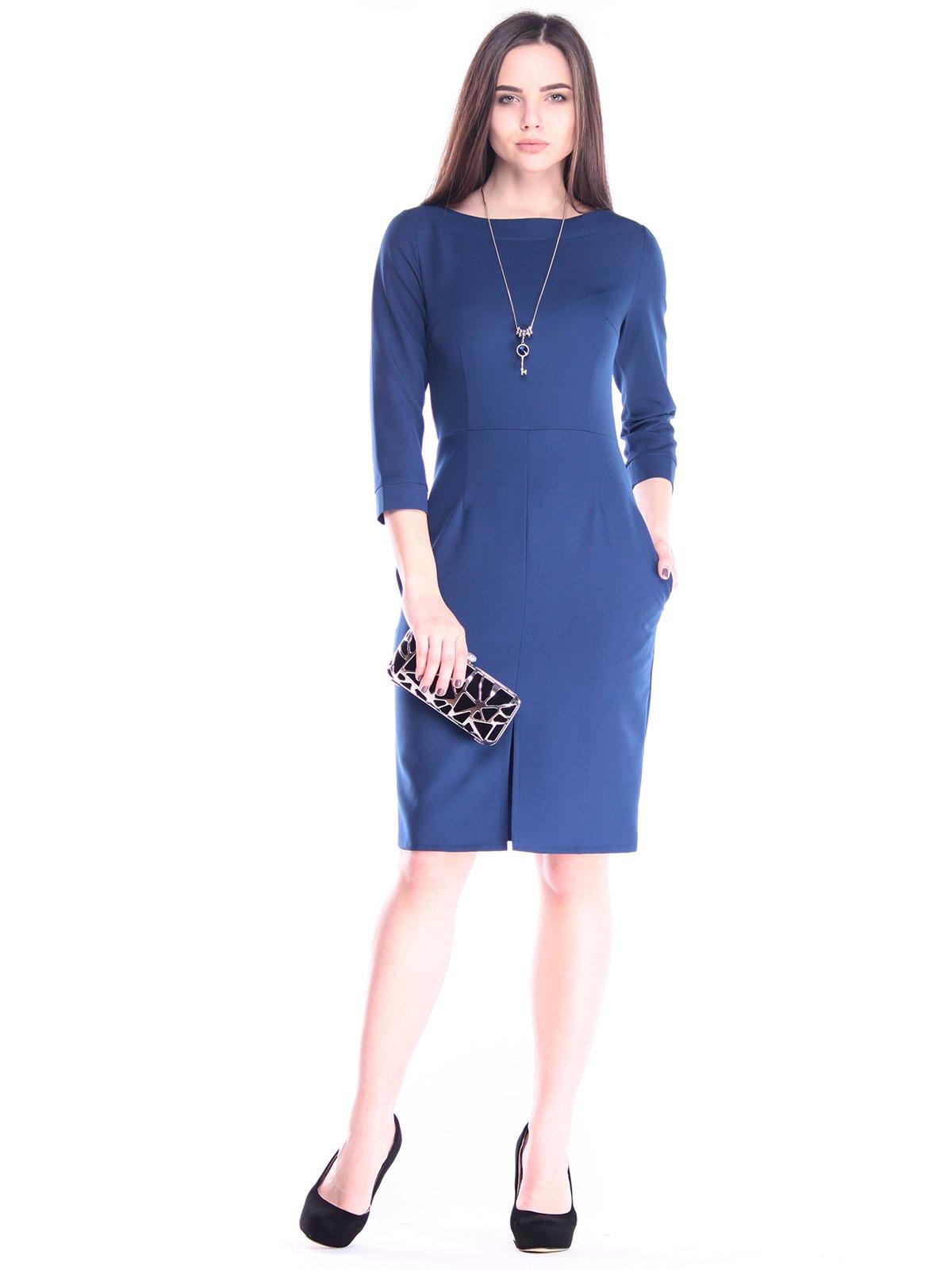 Платье синее | 2995946
