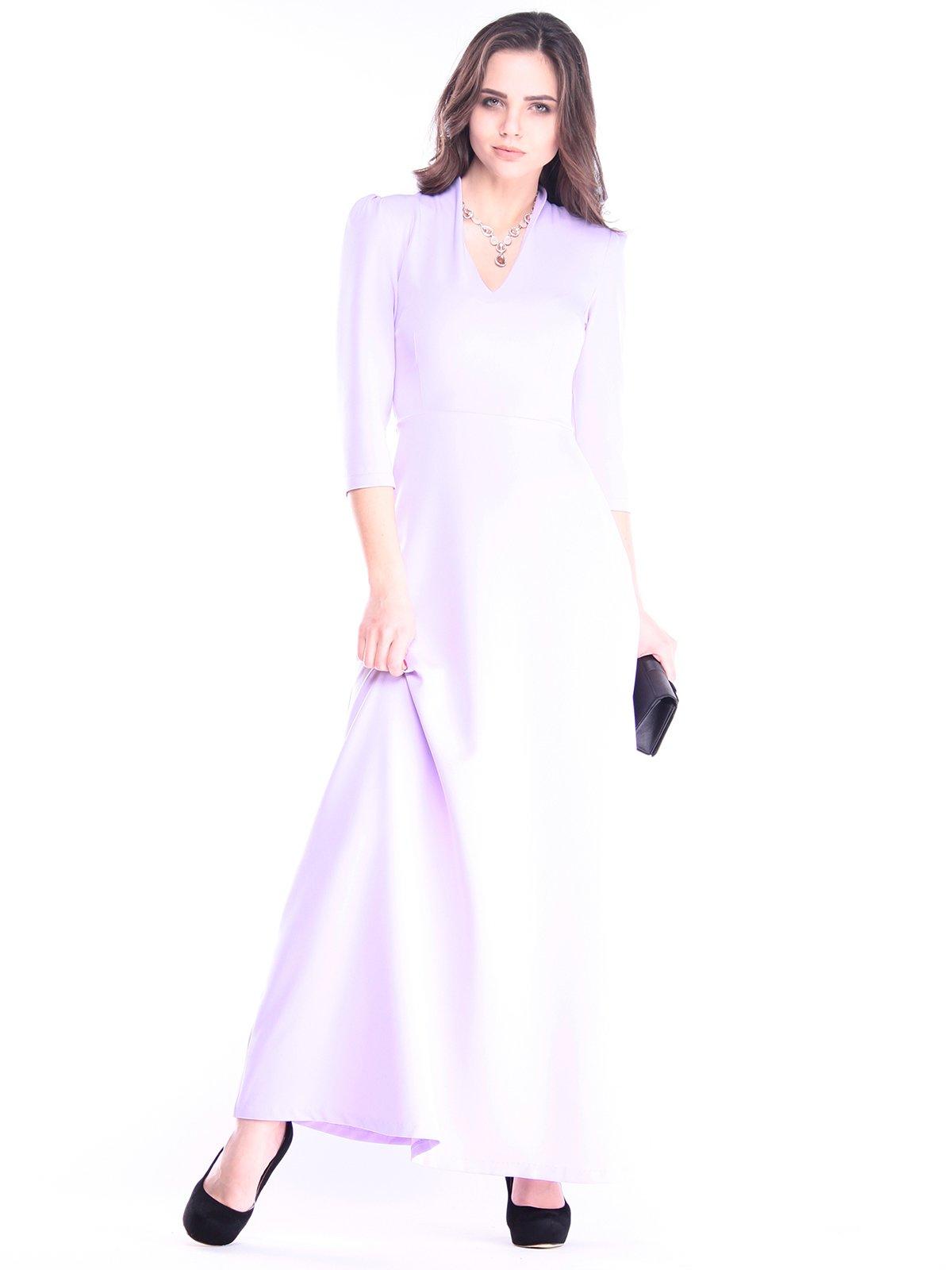 Платье светло-сиреневого цвета | 2995953