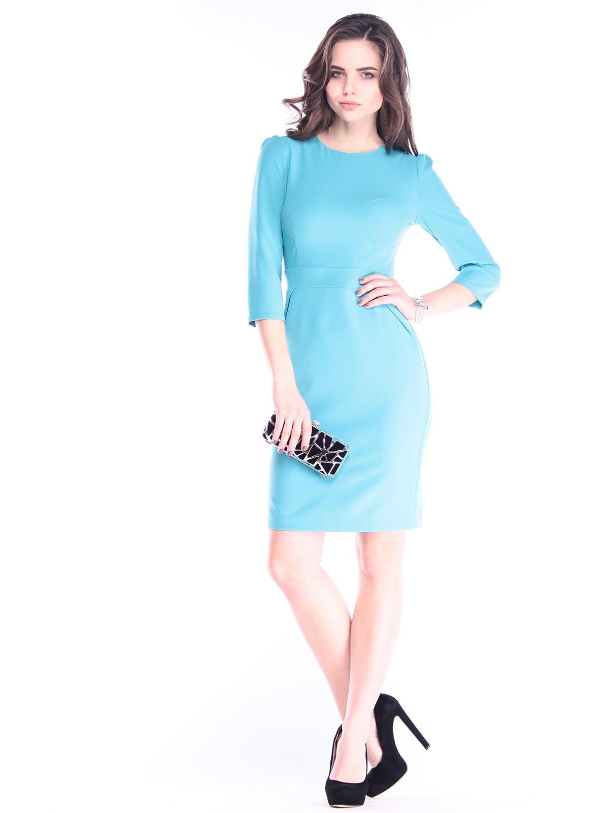 Сукня кольору зеленої бірюзи   2995967