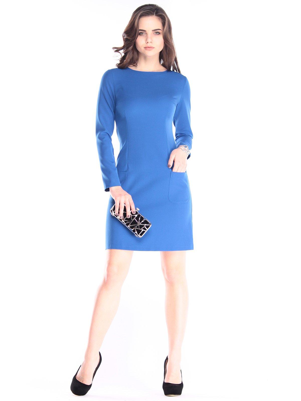 Сукня кольору електрик | 2995974