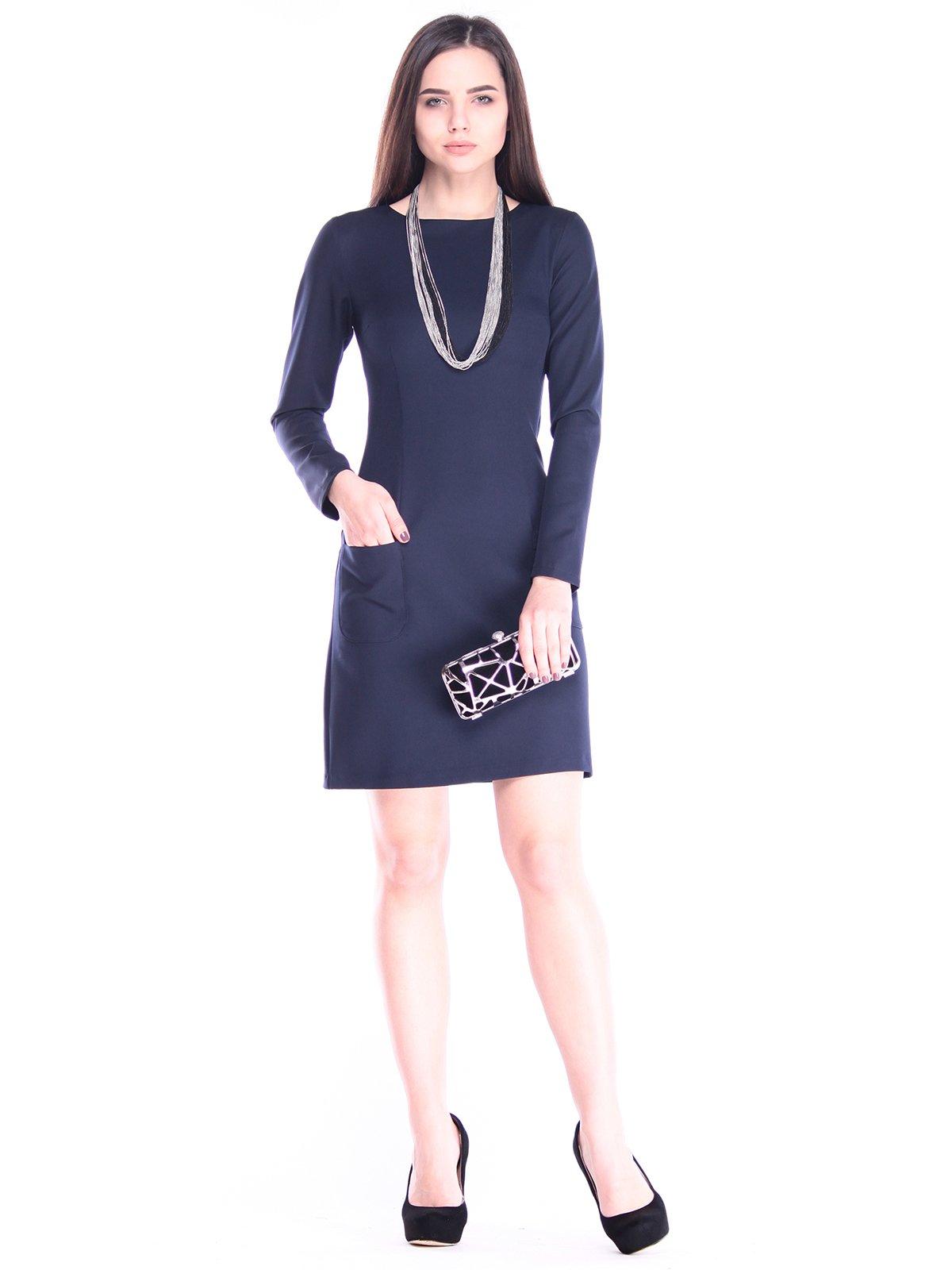 Сукня темно-синя | 2995978