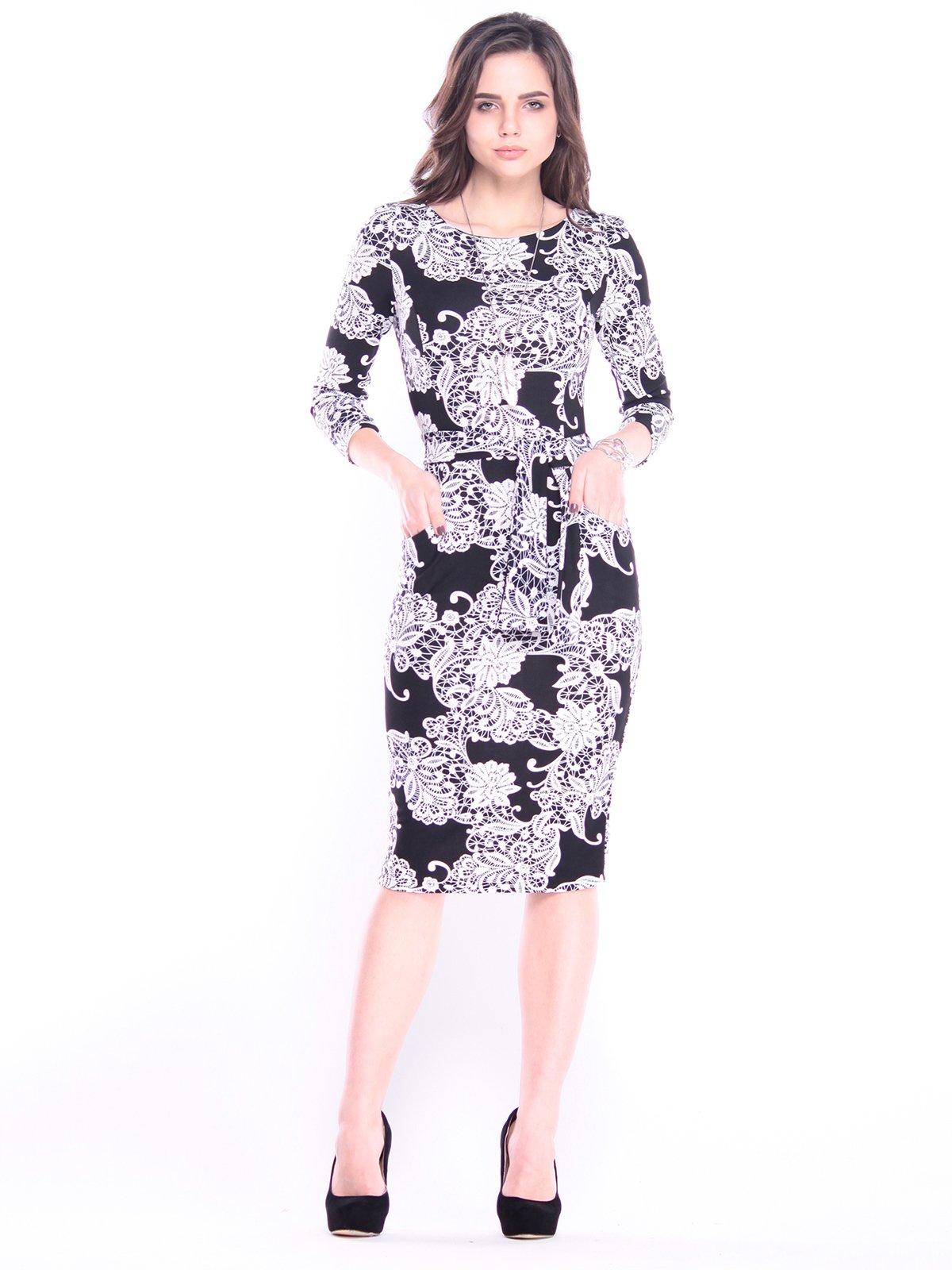 Сукня в принт | 3008077