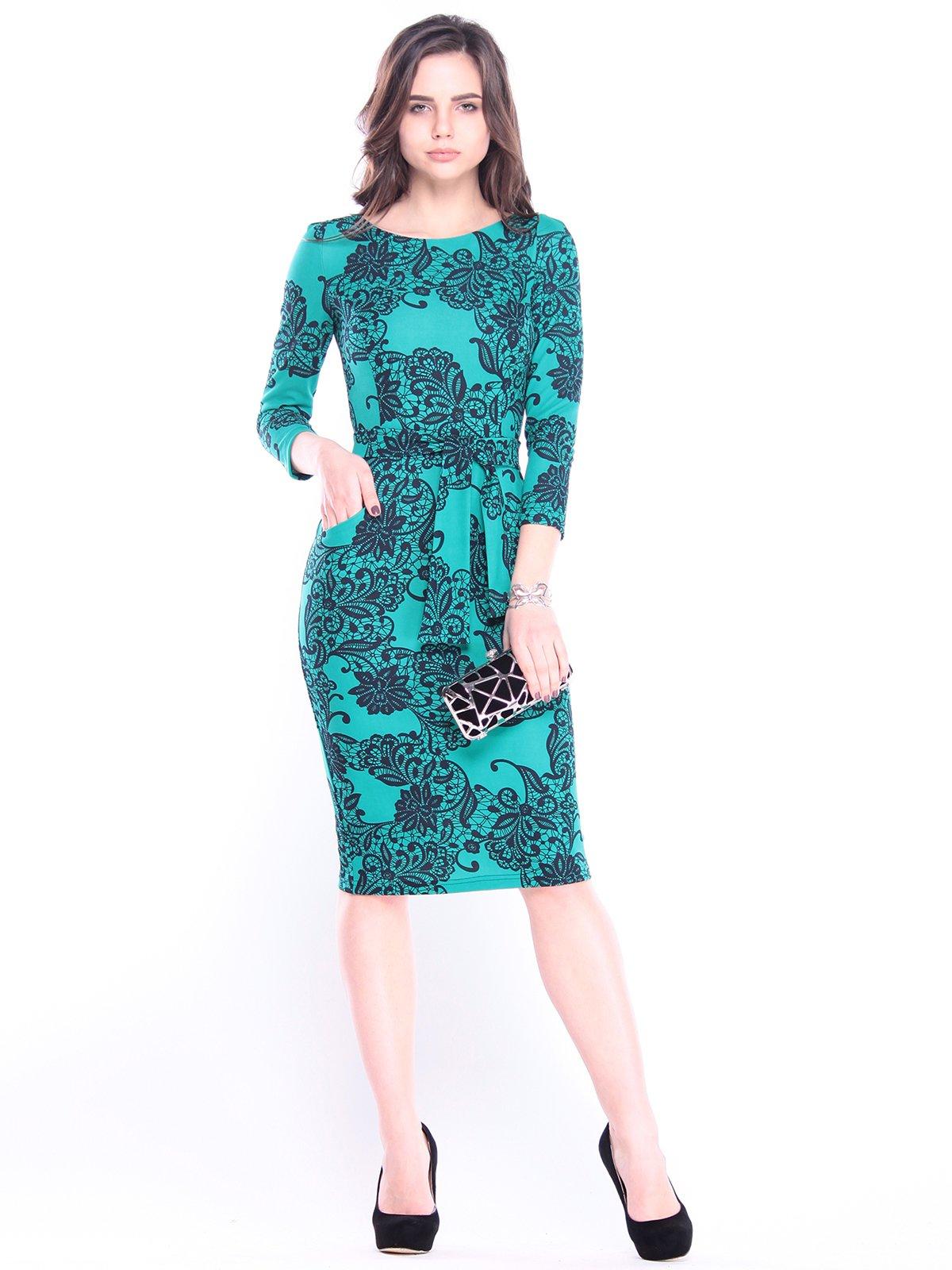 Платье в принт | 3008079