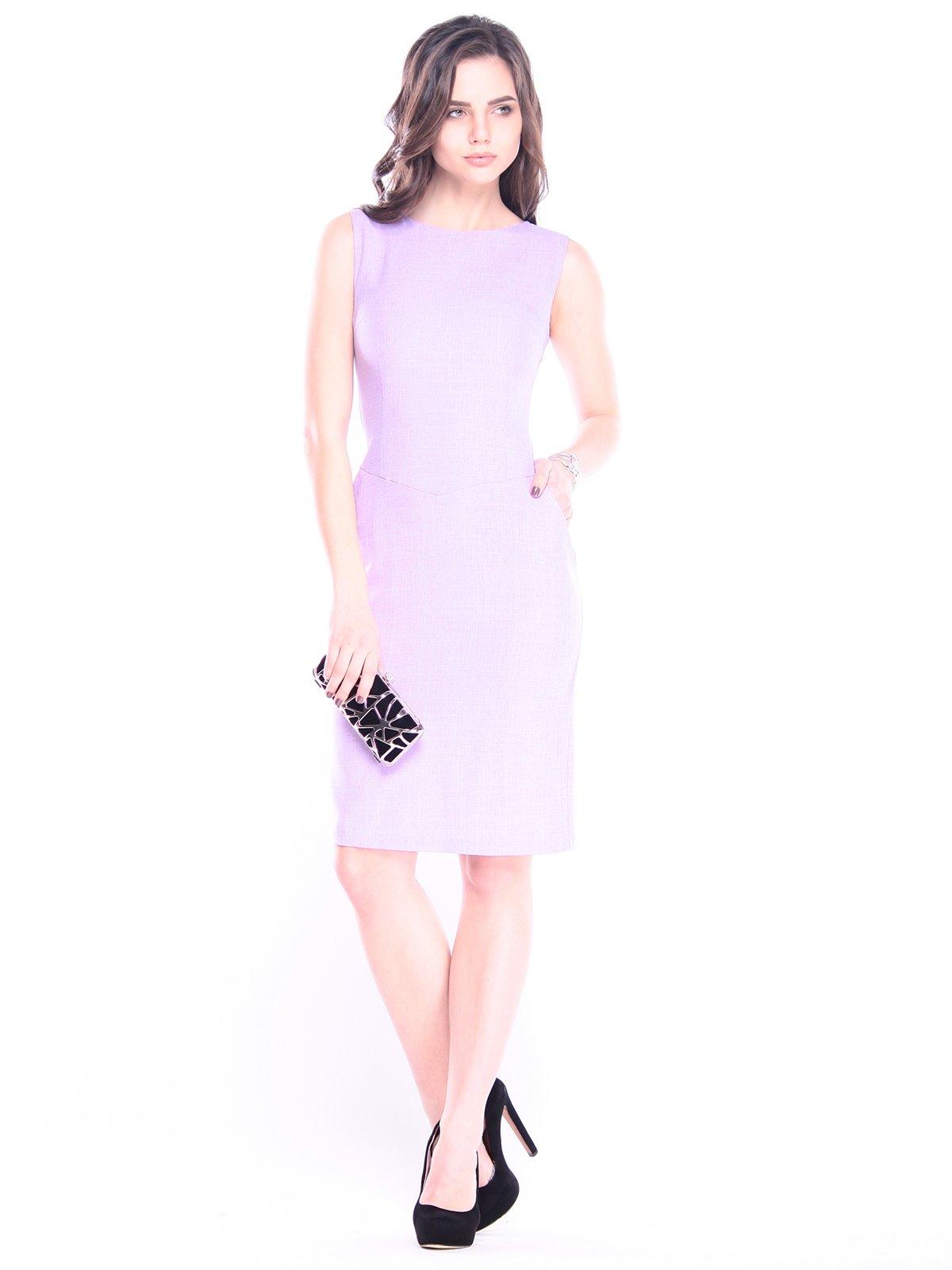 Сукня світло-фіалкового кольору | 3008092