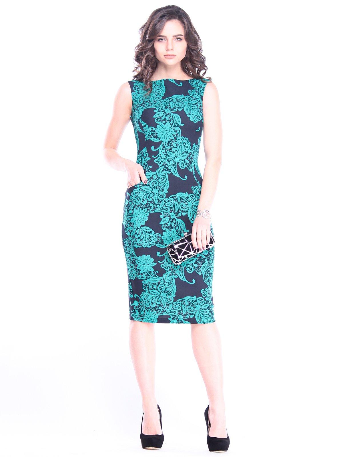 Платье в принт | 3008102