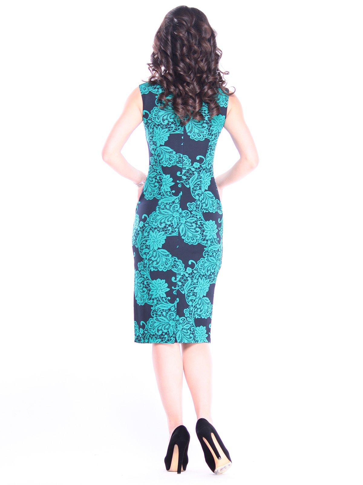 Платье в принт | 3008102 | фото 2