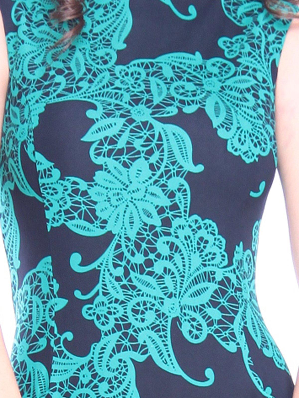 Платье в принт | 3008102 | фото 3