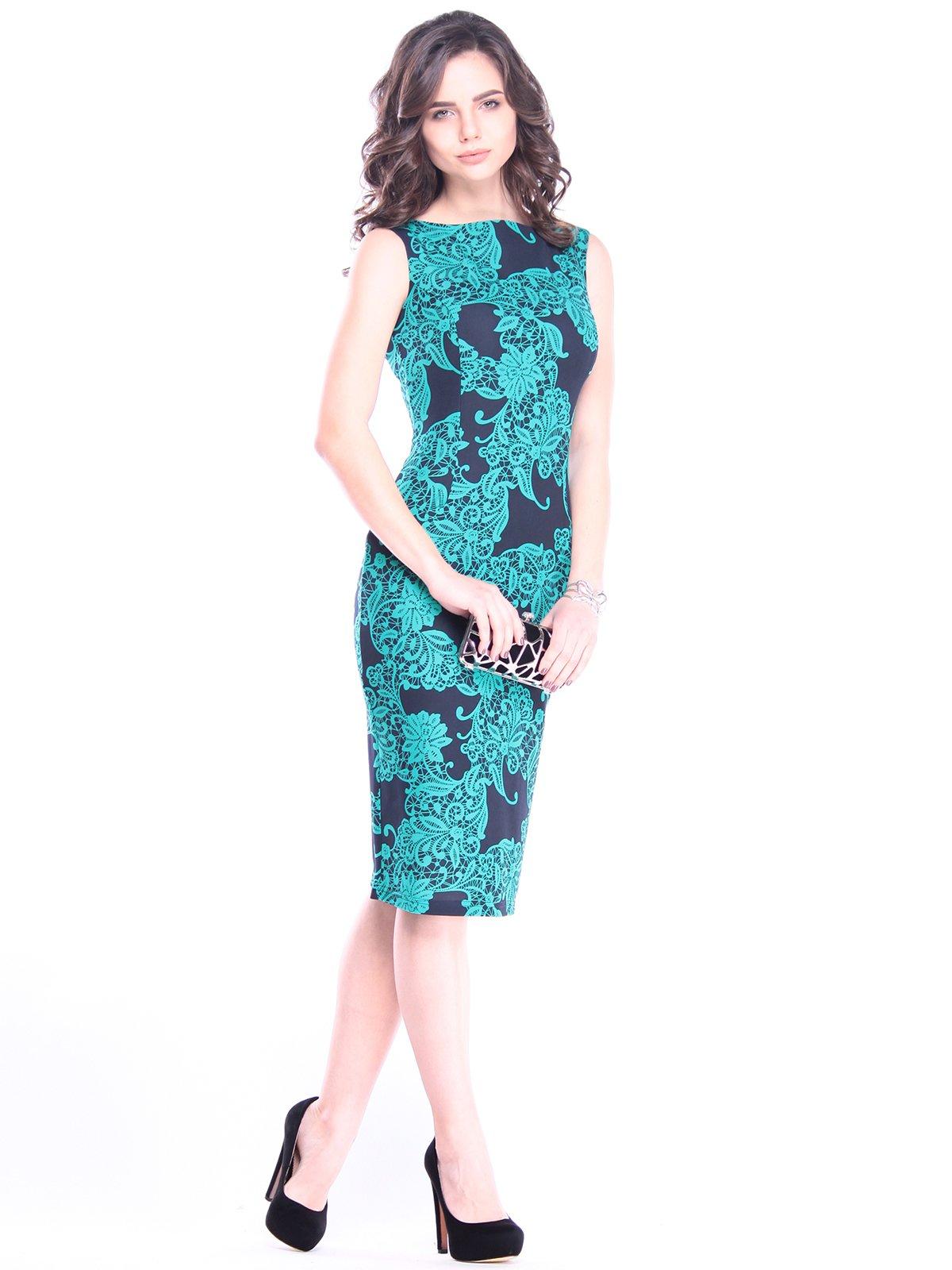 Платье в принт | 3008102 | фото 4