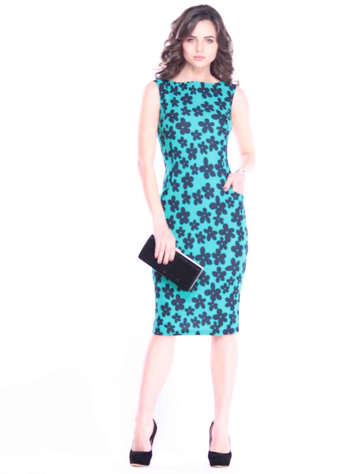 Платье в принт | 3008105