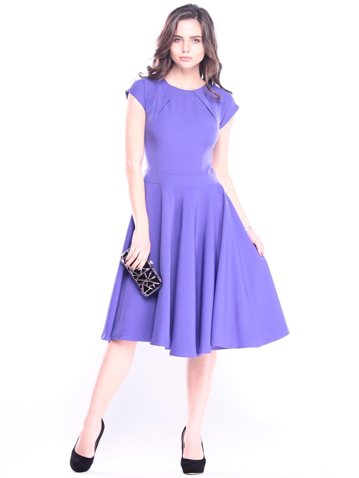 Платье сиреневое | 3008133