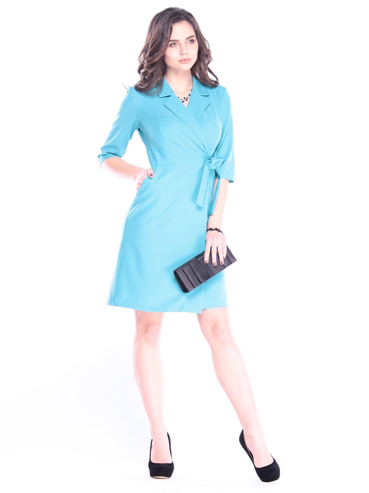 Сукня кольору зеленої бірюзи   3008146