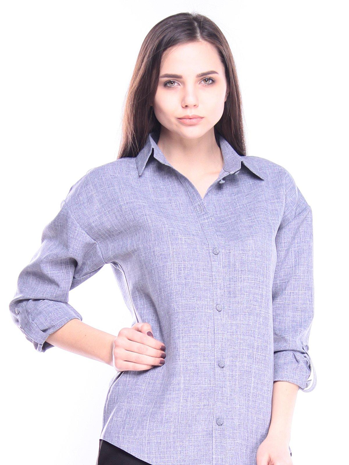 Рубашка цвета фиолетовой дымки   3008151