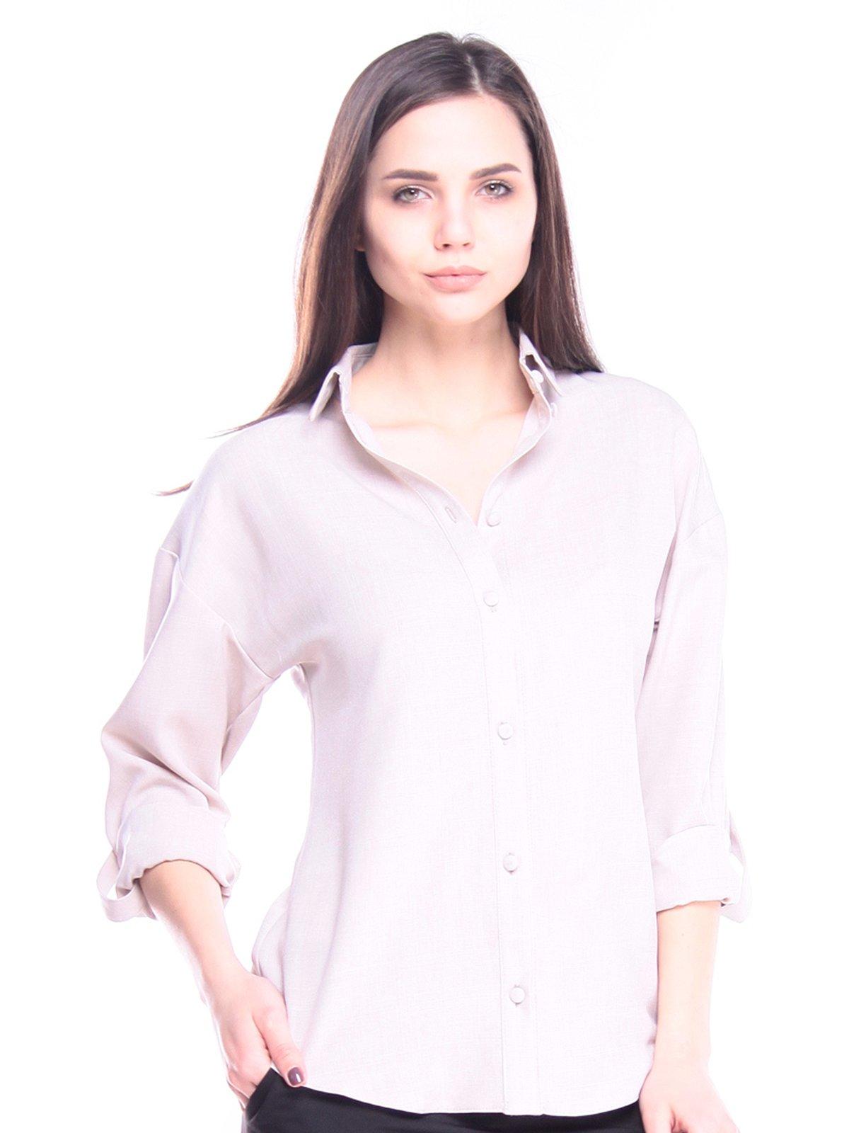 Блуза бежевая | 3008152