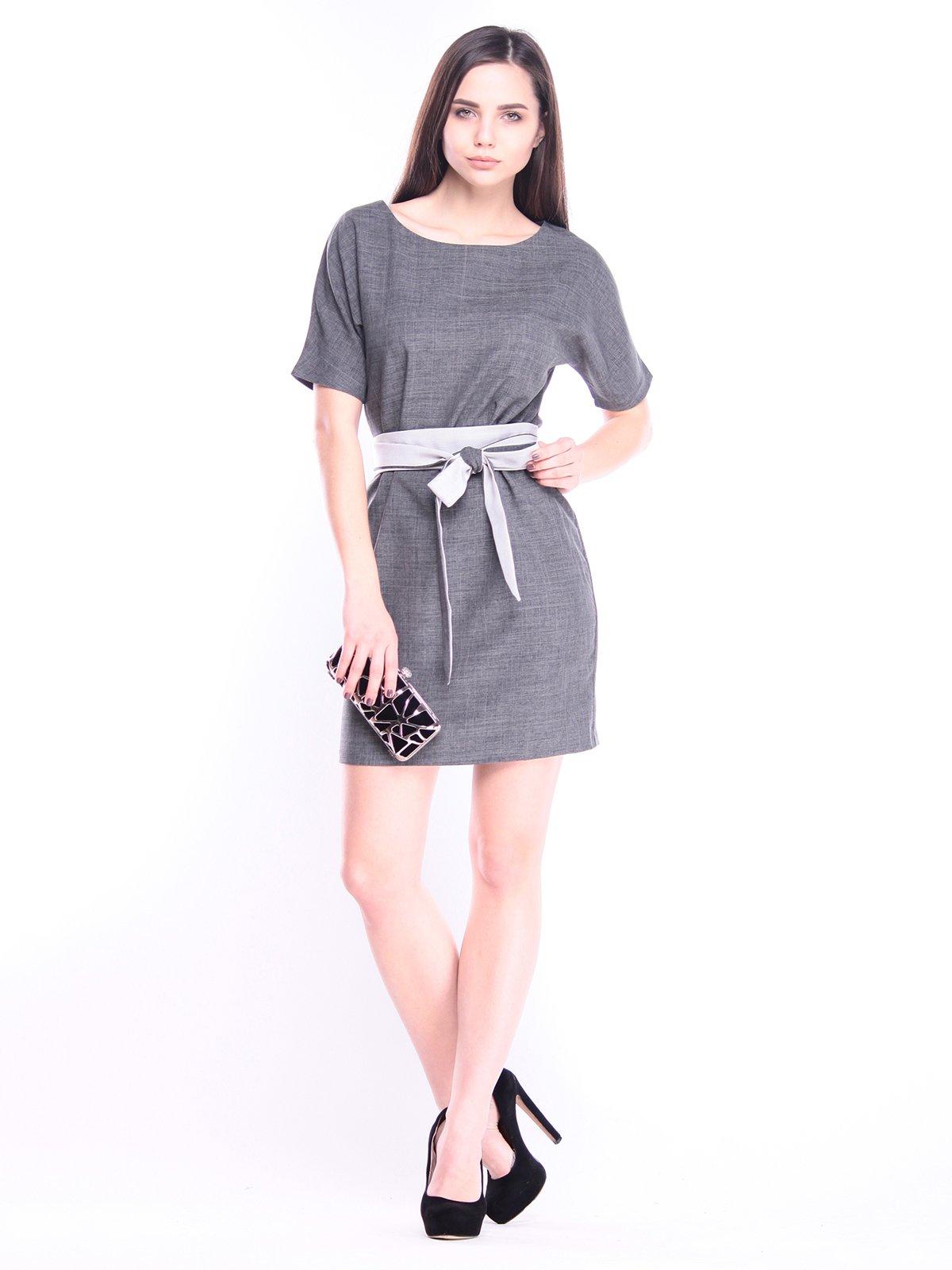 Сукня графітового кольору | 3008156