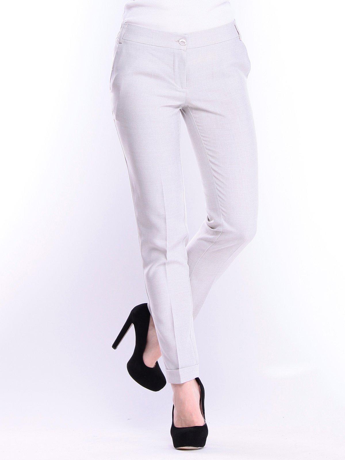 Штани біло-сірого кольору | 3008168