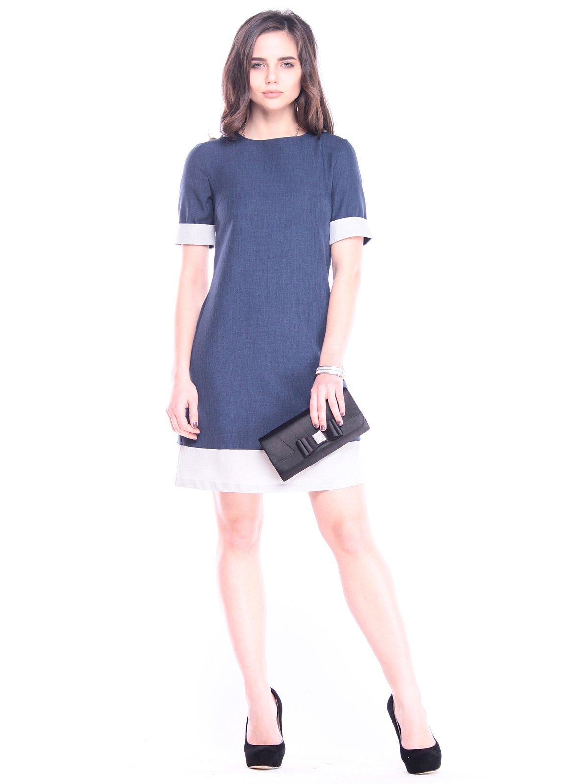 Платье синее | 3041006
