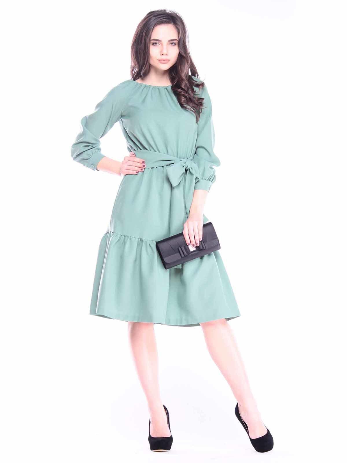 Сукня оливкового кольору | 3041119