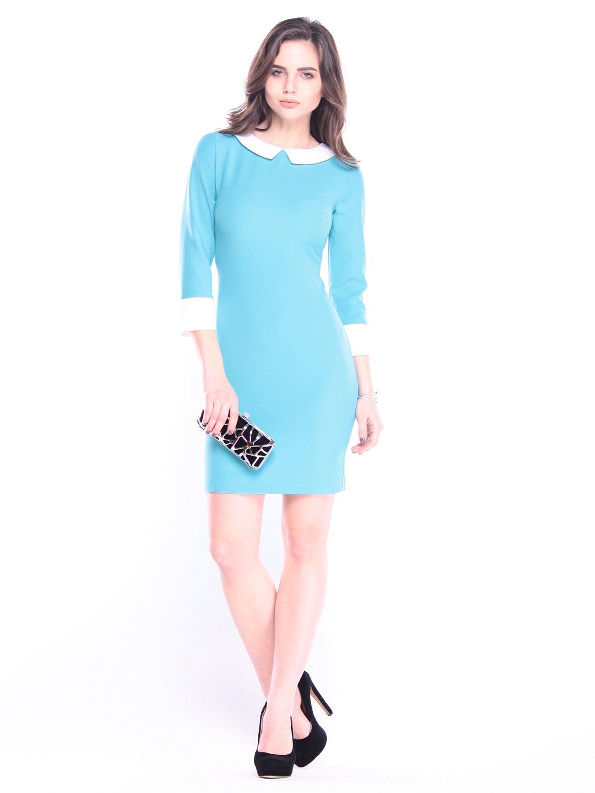 Сукня кольору зеленої бірюзи | 3041124
