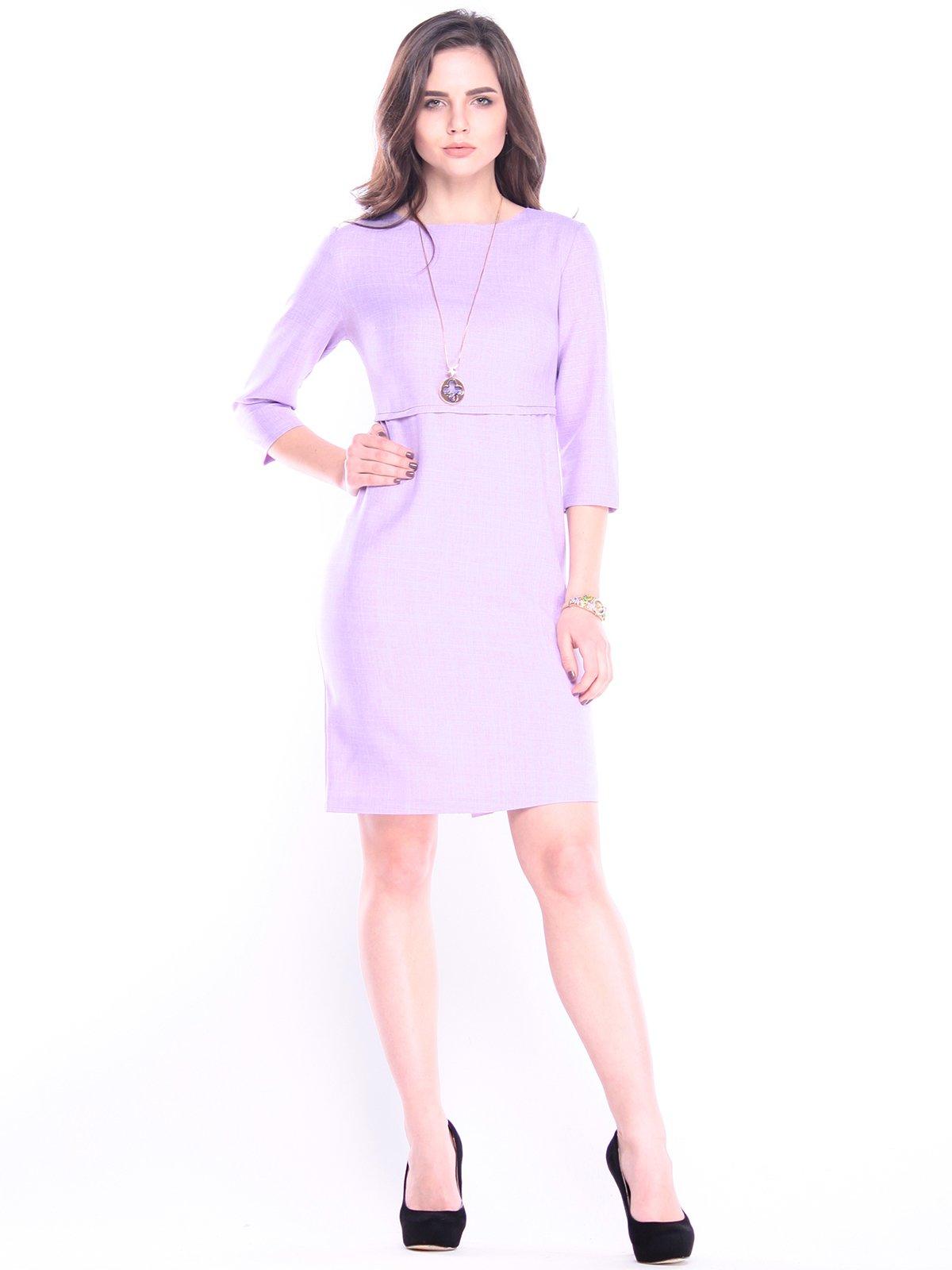 Платье светло-фиалковое | 3041126