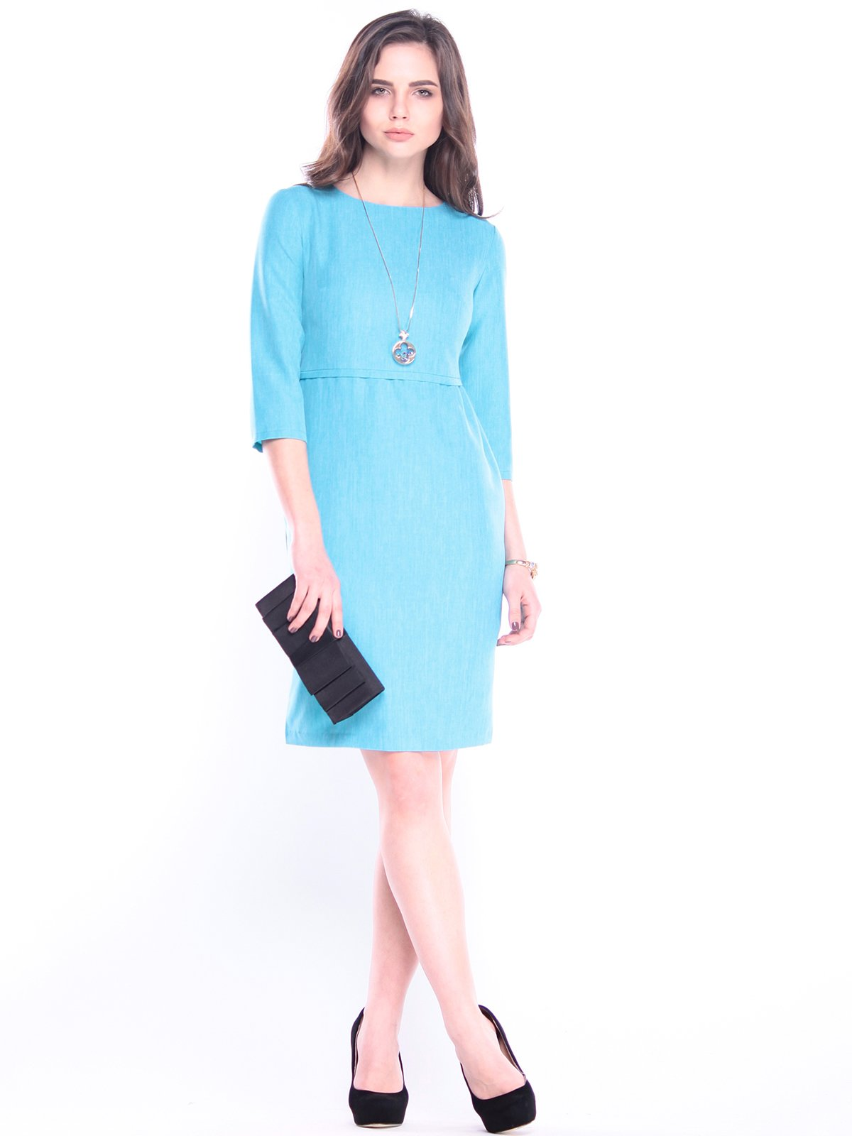 Сукня кольору ментолу | 3041127