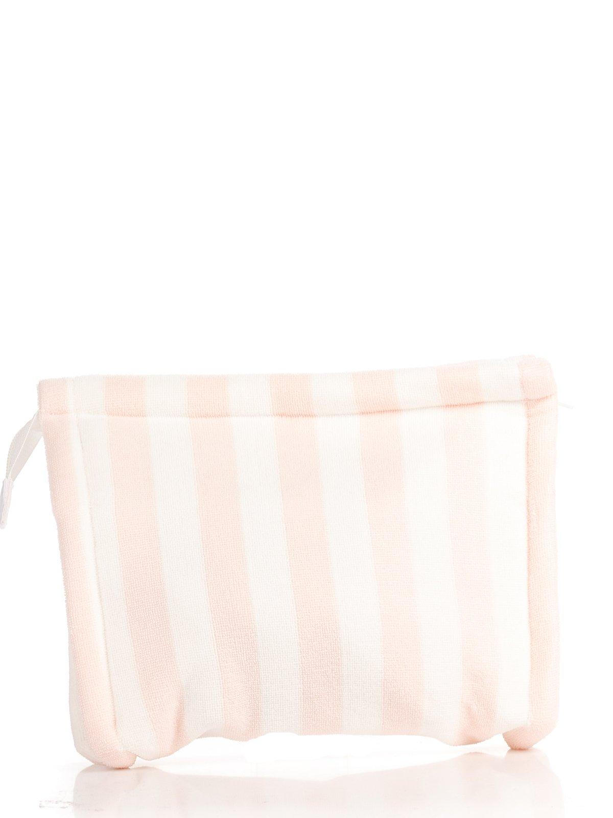 Косметичка бело-розовая в полоску | 2992524 | фото 2