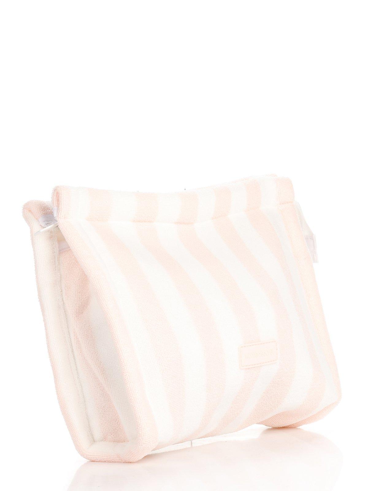 Косметичка бело-розовая в полоску | 2992524 | фото 3