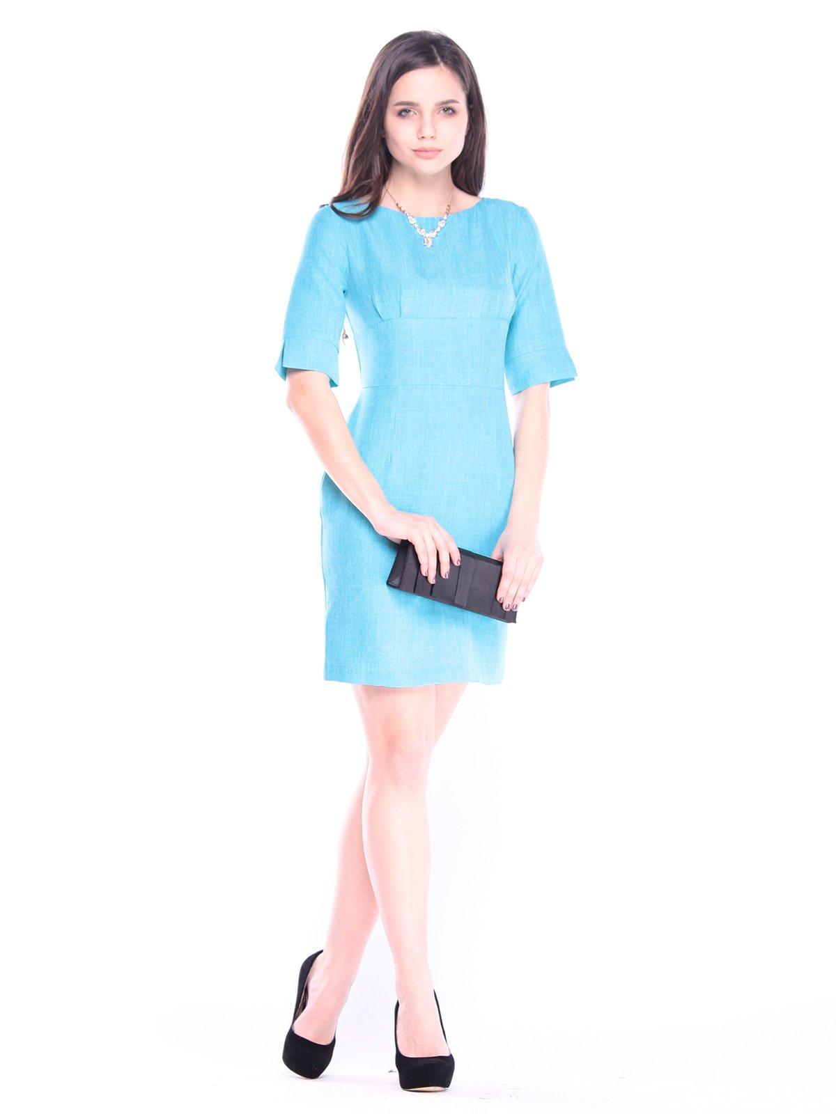 Сукня ментолового кольору | 3061060
