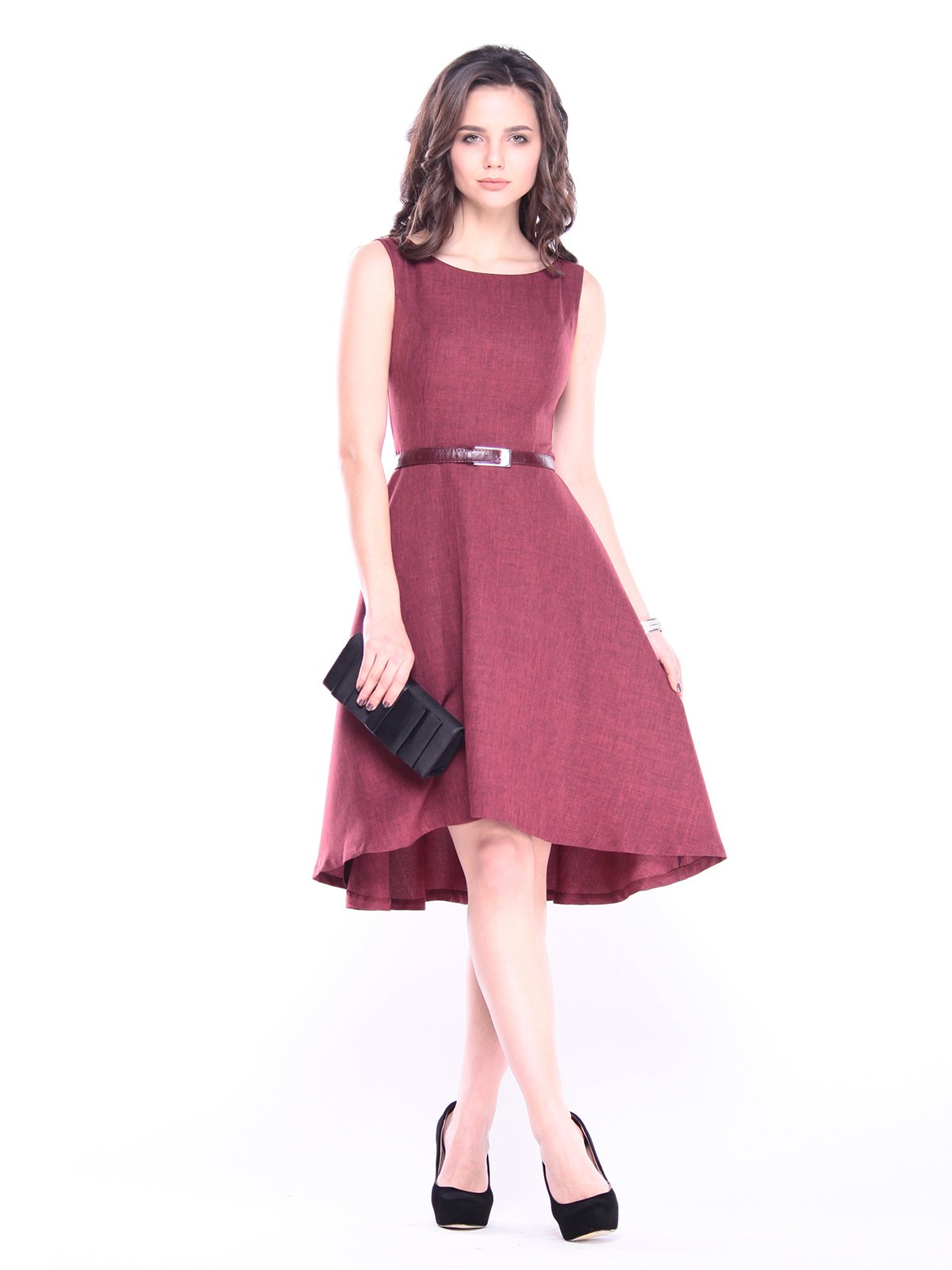 Сукня світло-сливова | 3061156