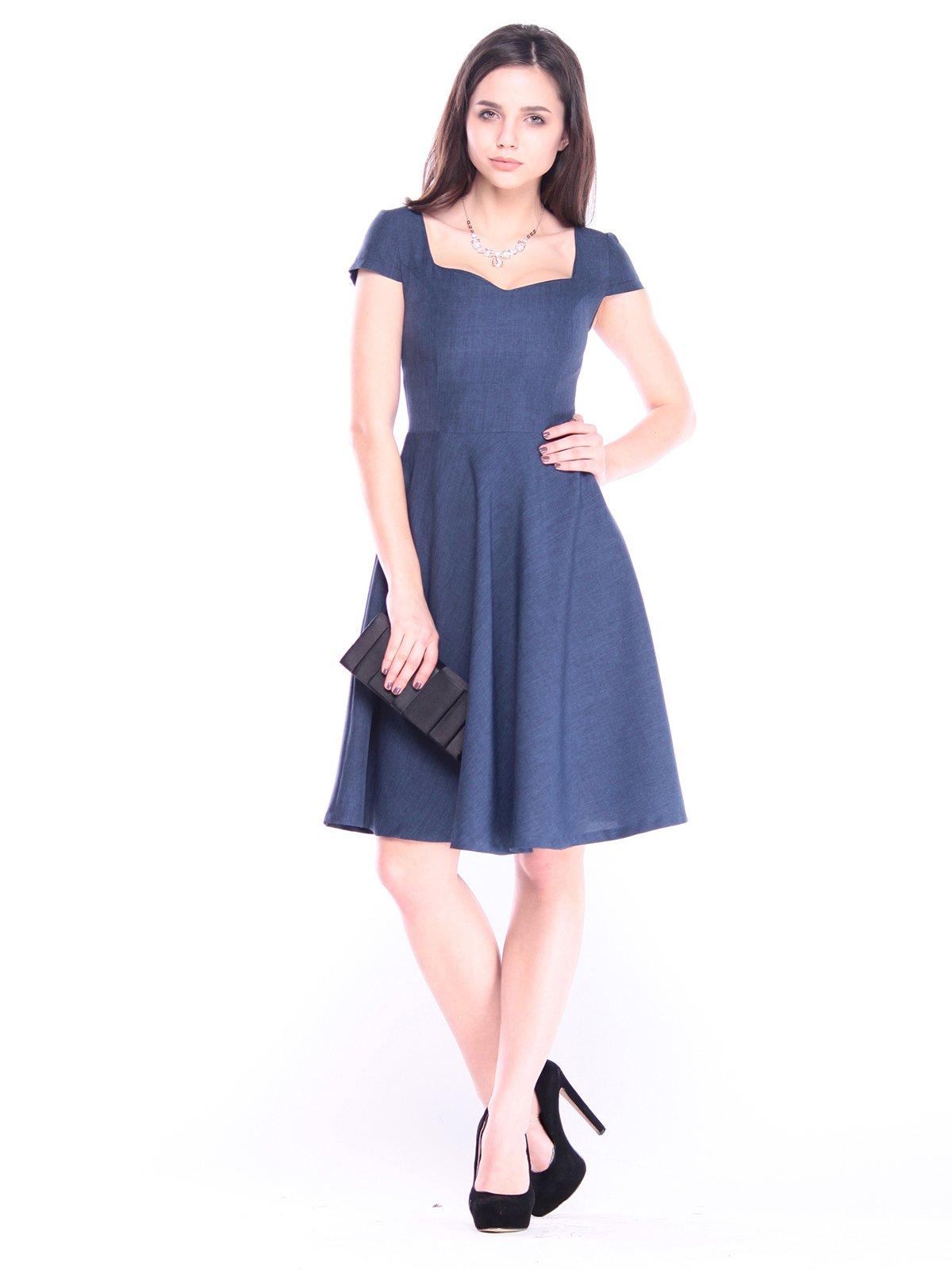 Платье темно-синее   3061192
