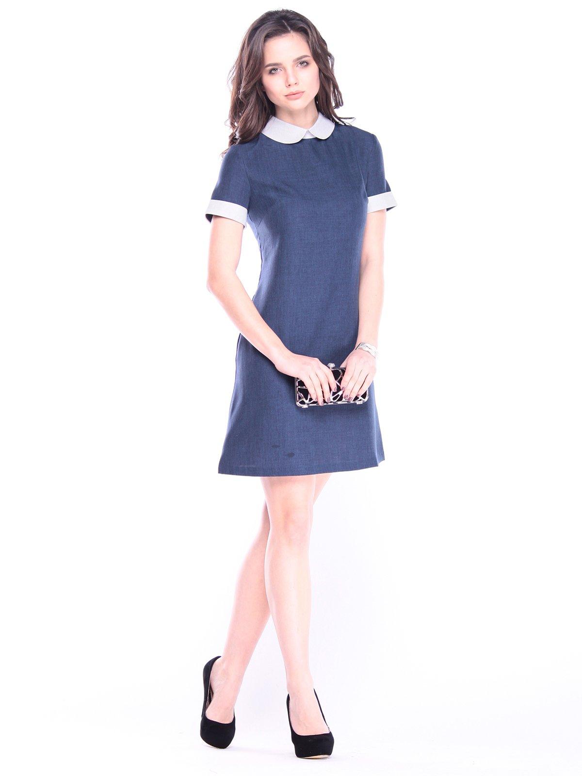 Сукня темно-синя | 3061287