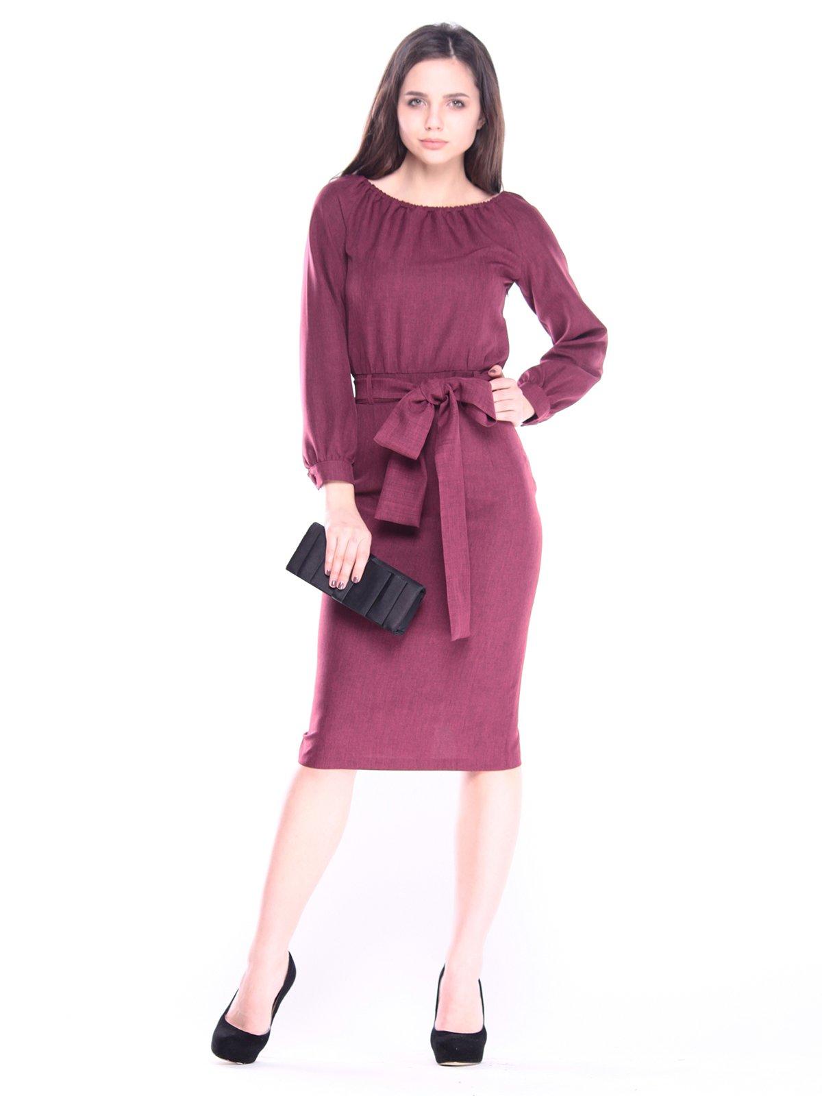 Сукня темно-сливова | 3061366