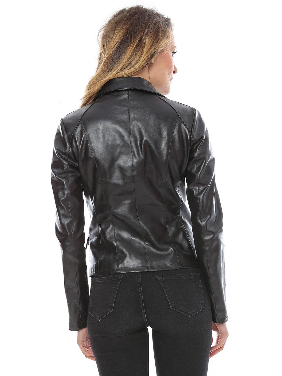 Куртка черная | 1315275 | фото 2