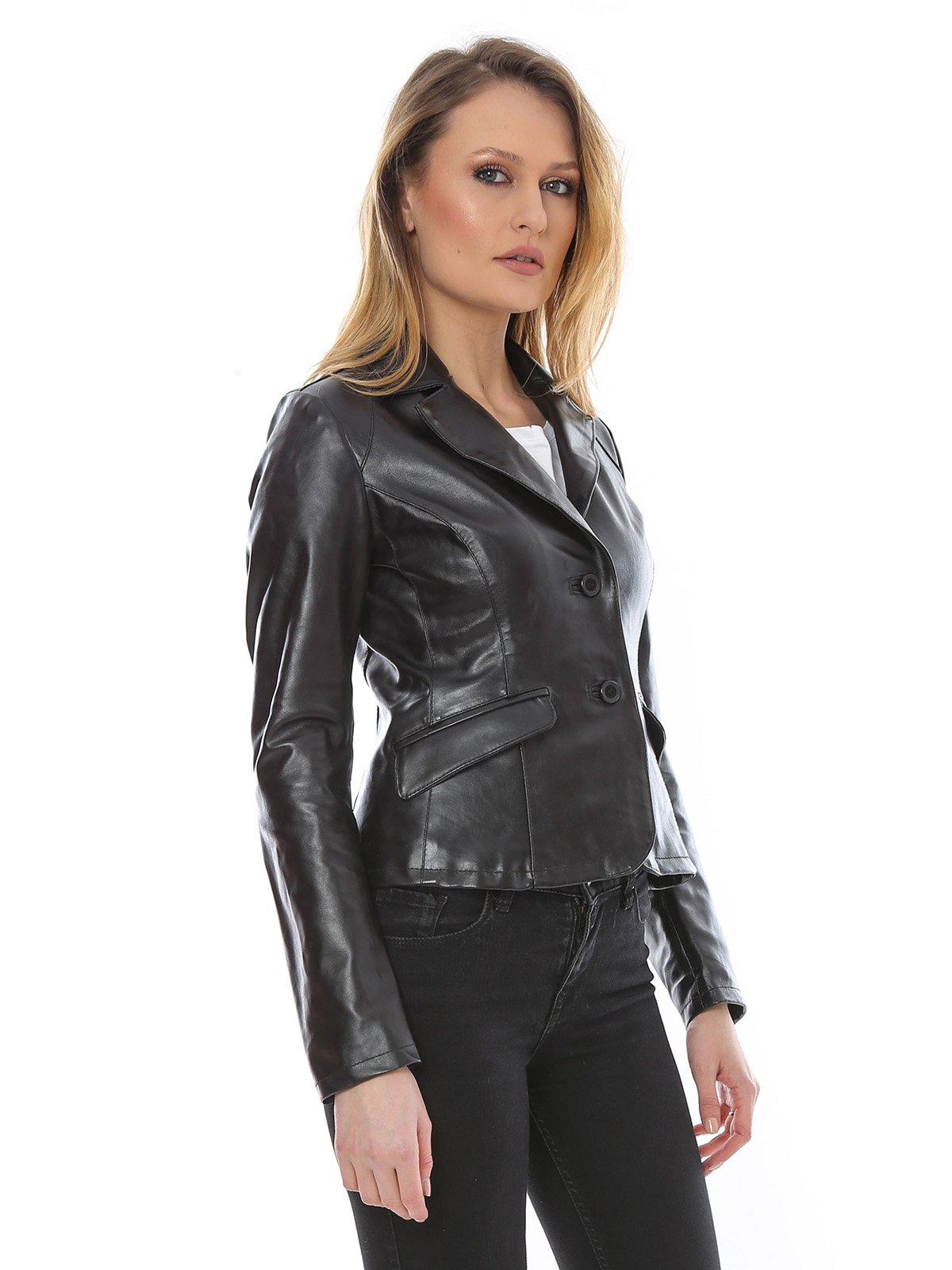 Куртка черная | 1315275 | фото 3