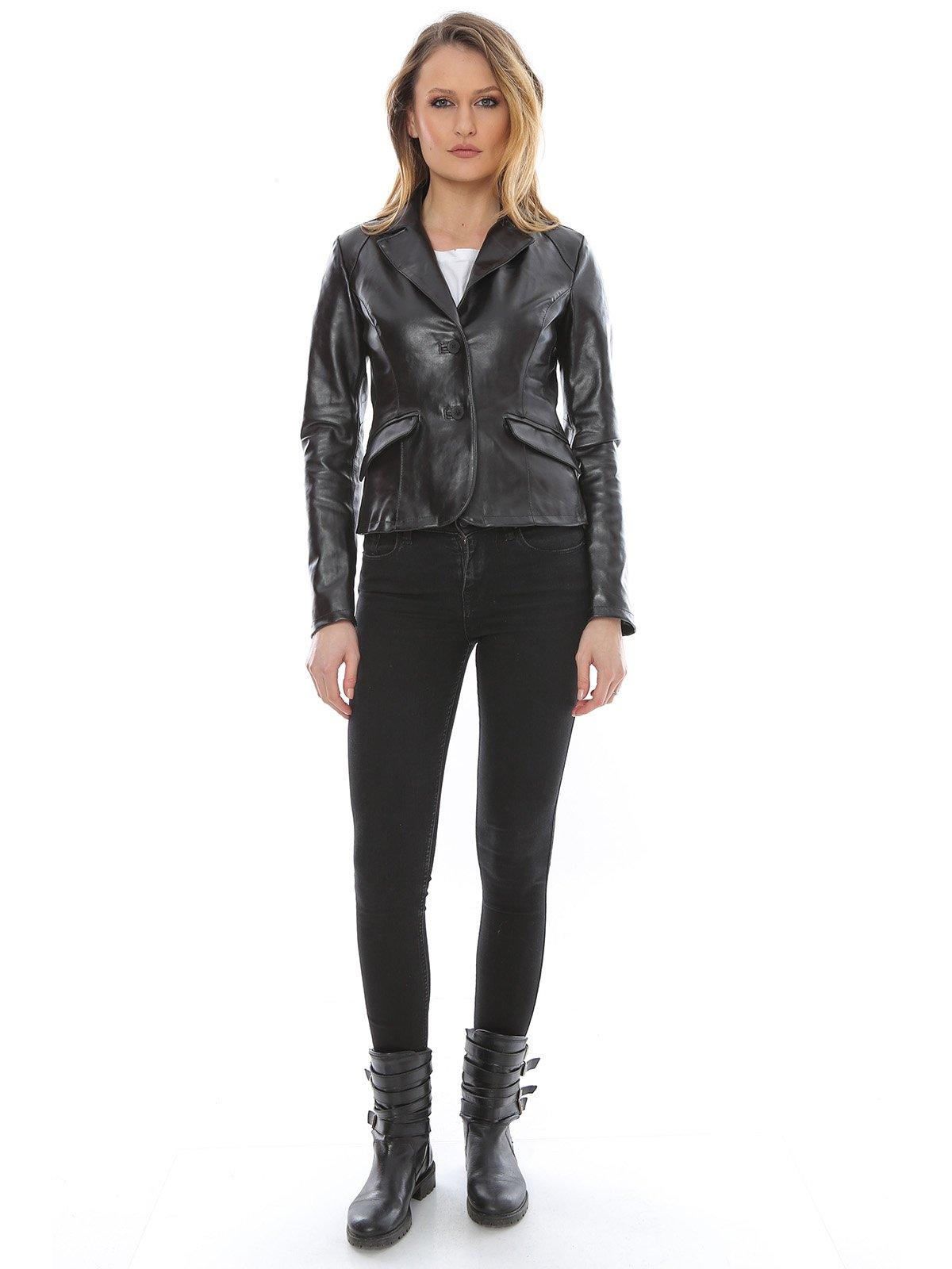 Куртка черная | 1315275 | фото 4