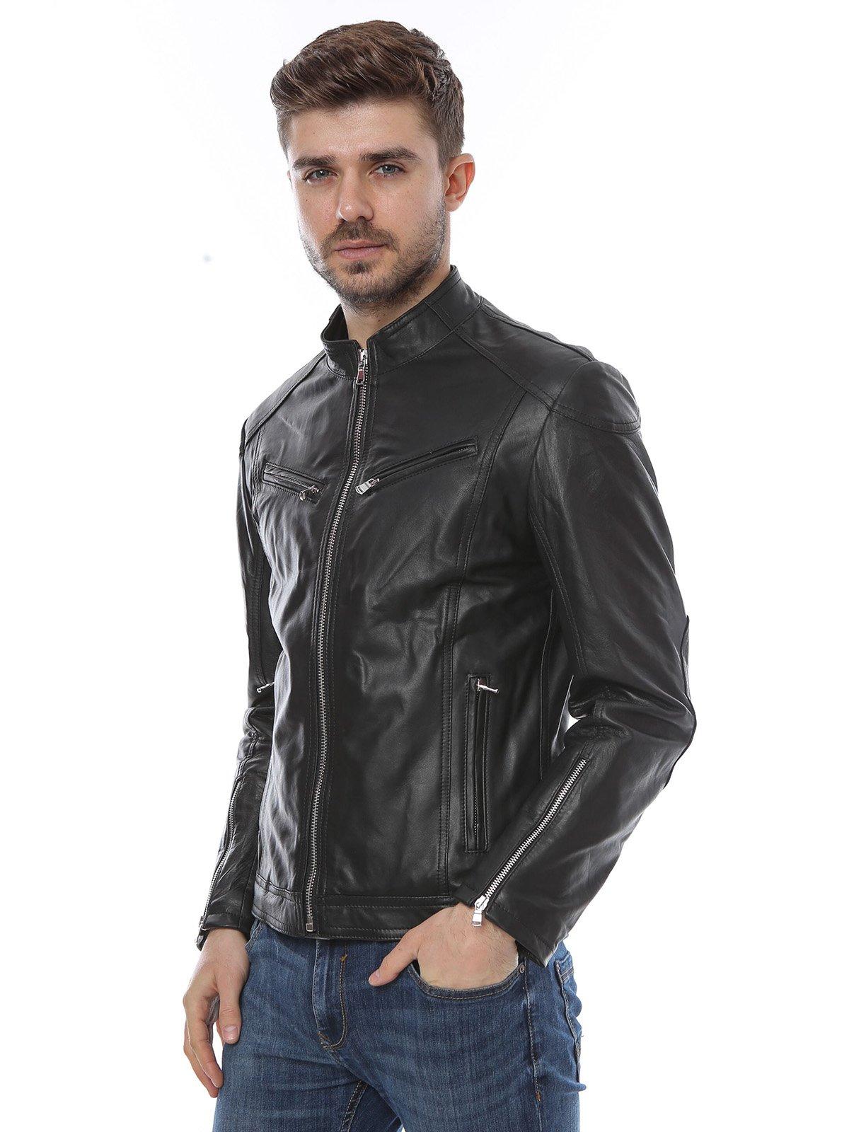 Куртка черная | 1315316 | фото 3